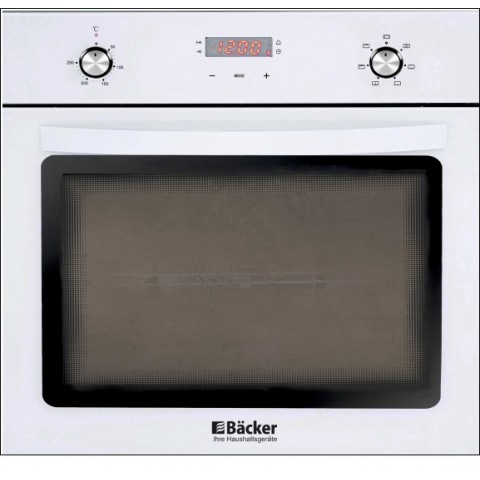 BACKER BM68T1-А1 WHITE электрический духовой шкаф